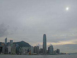 Altostratus cloud - Image: Altostratus clouds over Hong Kong