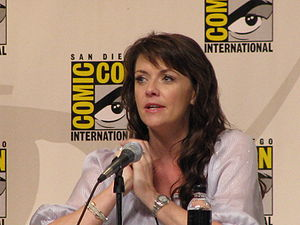 Amanda Tapping at Comic Con