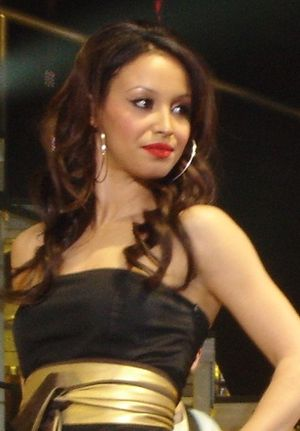 Amelle Berrabah - Amelle Berrabah in 2006, performing in the Taller In More Ways Tour