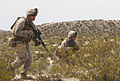 America's Battalion takes Texas, Echo Company fires the first shot 140405-M-WC184-700.jpg