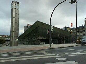 Cercanías Bilbao - Ametzola station.