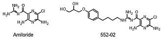 Amiloride - Image: Amiloride 55202
