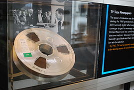 Image result for ampex demonstrates the first video taping