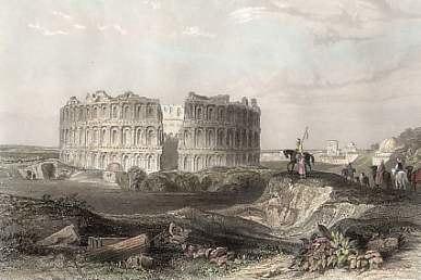 Amphithéâtre d'El Jem - Rouargue