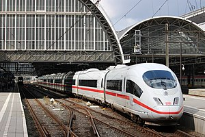 LGV Nord - A Deutsche Bahn high-speed train