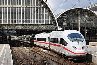 LGV Nord - A Deutsche Bahn high-speed train