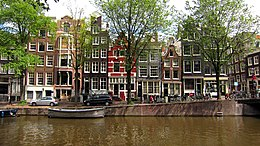 Amsterdam's Grachtengordel, listed as a UNESCO World Heritage site since 2010