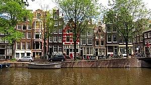 Amsterdam-Centrum - Prinsengracht, Grachtengordel