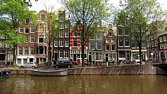 Amsterdam-Centrum - Amsterdam's Grachtengordel, listed as a UNESCO World Heritage site since 2010
