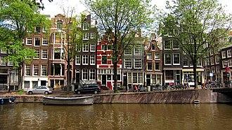 Amsterdam-Centrum - Amsterdam's Grachtengordel, listed as a UNESCO World Heritage site since 2010