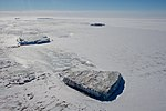 An Iceberg Seen in McMurdo Sound, Antarctica (30877661966).jpg