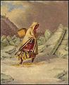 An Indian Mocassin Seller, oil paintings by Cornelius Krieghoff, 1860.jpg
