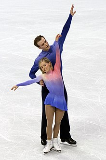 Anabelle Langlois Cody Hay at the 2010 Olympics (2).jpg
