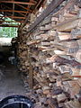 Anagama wood stacks (2517048644).jpg