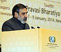 Anand Sharma addressing the plenary session – India's Growth and Development Agenda, at the 12th Pravasi Bharatiya Divas 'Engaging Diaspora Connecting Across Generation', in New Delhi on January 08, 2014.jpg