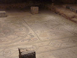 Ancient Mosaic of Beth Alpha Synagogue