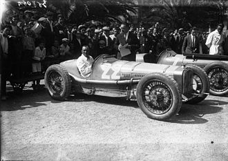 André Morel - Image: André Morel at the 1926 San Sebastián Grand Prix
