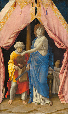 Andrea Mantegna or Follower (Possibly Giulio Campagnola) - Judith with the Head of Holofernes - Google Art Project.jpg