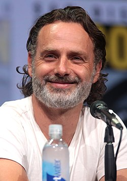 Andrew Lincoln San Diegon Comic-Conissa 2017.