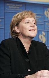Bondskanselier Angela Merkel