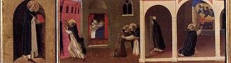 Cortona Triptych - Image: Angelico, cortona poliptych, predella 03