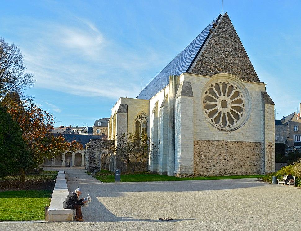 Angers - Abbaye Toussaint (1)