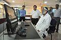 Anil Vij Checks Mind Game Exhibit - National Demonstration Laboratory - NCSM - Kolkata 2016-10-07 8217.JPG