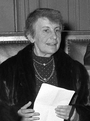 Anna Freud - Freud in 1956