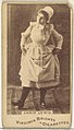 Annie Lewis, from the Actors and Actresses series (N45, Type 1) for Virginia Brights Cigarettes MET DP829777.jpg