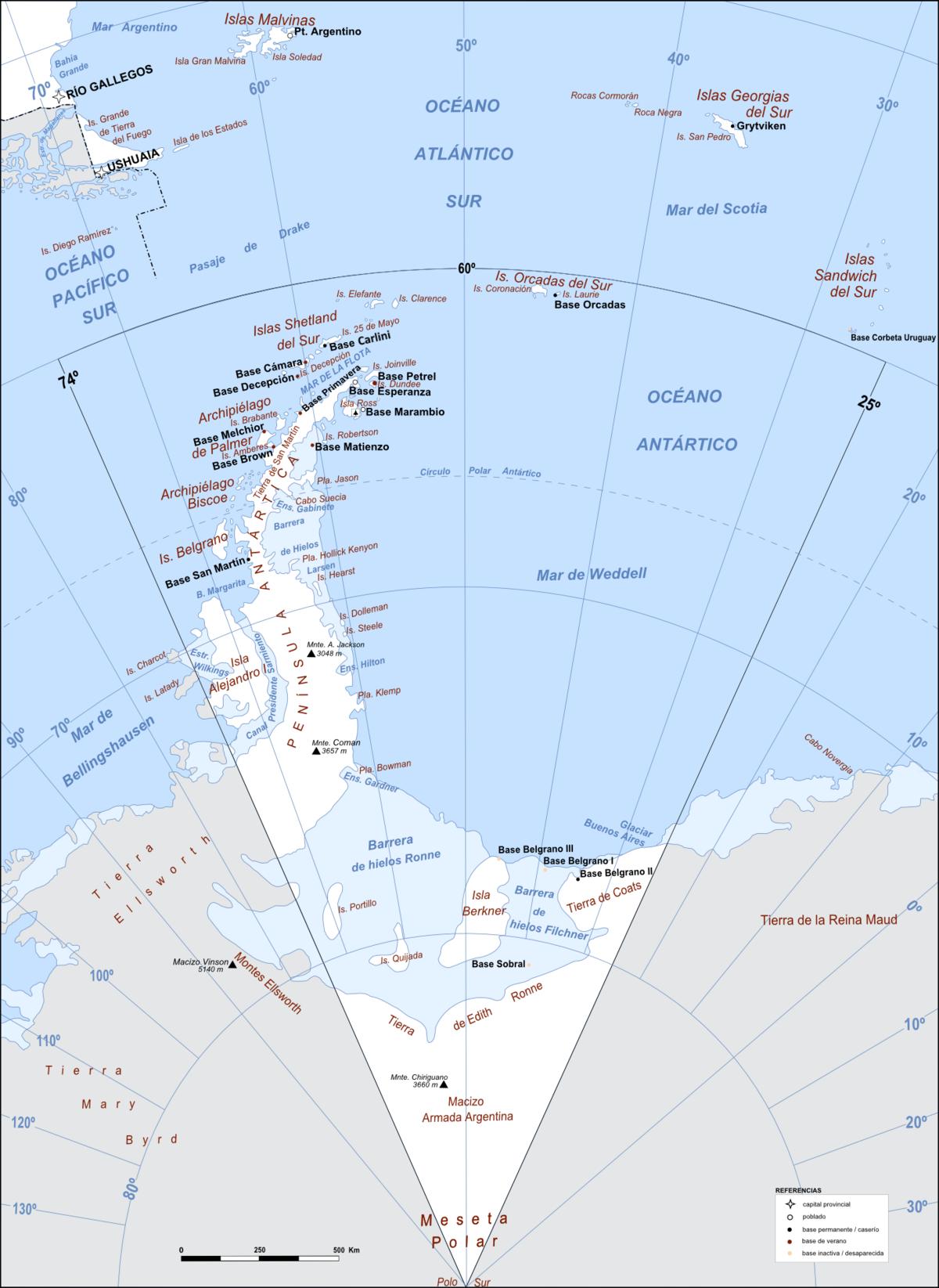 Departamento Antártida Argentina - Wikipedia, la enciclopedia libre