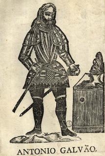 António Galvão Portuguese administrator and historian