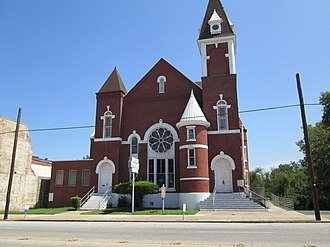 National Register of Historic Places listings in Caddo Parish, Louisiana - Image: Antioch Baptist Church Shreveport