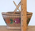 Antique painted rice basket 14.jpg