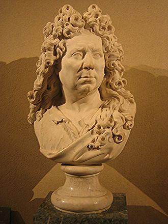 Antoine Coysevox - Self-portrait (Louvre)