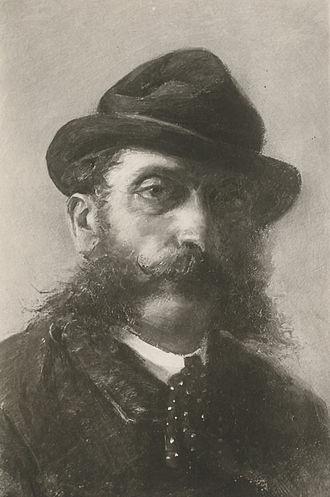 Antonino Gandolfo - Self portrait, 1890