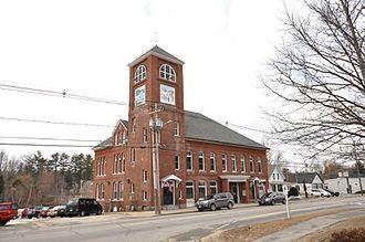 Antrim, New Hampshire - Image: Antrim NH Town Hall