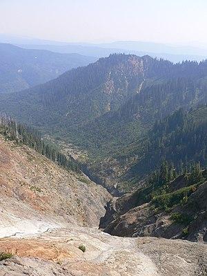 Ape Canyon - Image: Ape Canyon highview daylight