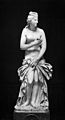 Aphrodite; Greek statue in parian marble found at Baiae. Wellcome M0004616.jpg