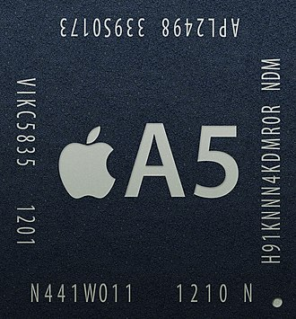 Apple A5 - The 32 nm A5r2 S5L8942 introduced in March 2012.