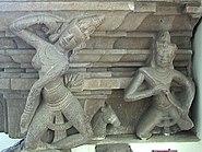 Apsara Gandharva Dancer Pedestal Tra Kieu