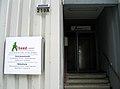 Arbeed gGmbH für berufliche Bildung und Produktion Vahrenwalder Straße 219A Hannover Zentralwerkstadt Möbelhalle Eingang zur Verwaltung, II.jpg