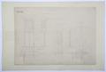 Arbetsritning för fastigheten nr 4 Hamngatan. Järndörrar - Hallwylska museet - 105262.tif