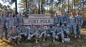 340th Infantry Regiment (United States) - Image: Archers supporting JRTC 16 03 January 2016