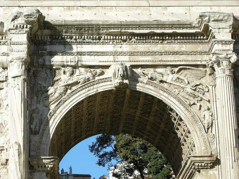 Rilievi Arco Di Via Lata Villa Torlonia