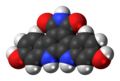 Arcyriaflavin C molecule spacefill.png