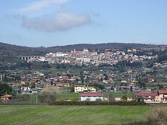 Ariccia - Ariccia and Vallericcia