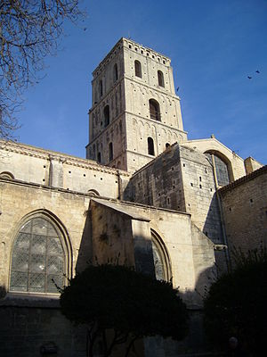 Church of St. Trophime, Arles - Bell Tower of St. Trophime Church, Arles (12th century)