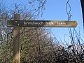 Armsheuch Walk Sign Post - geograph.org.uk - 350579.jpg