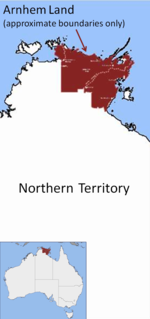 Arnhem Land Region in the Northern Territory, Australia