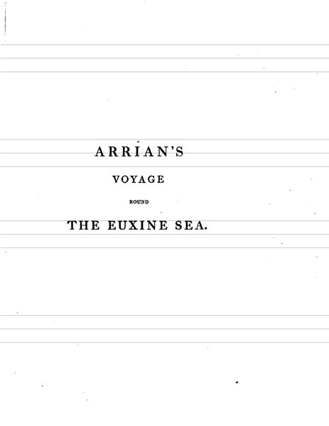 File:Arrian's Voyage Round the Euxine Sea Translated.djvu